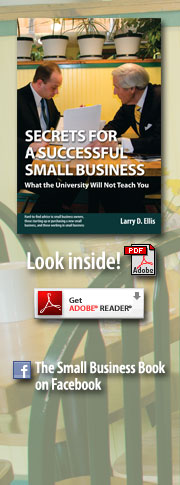 Secrets for a Successful Small Business cover